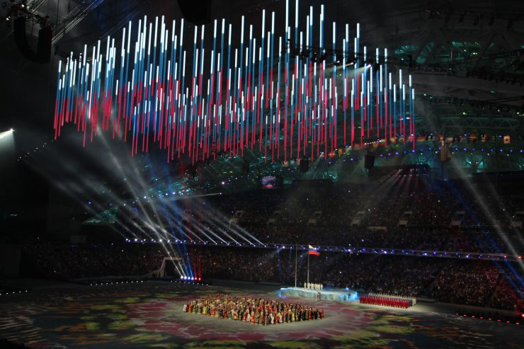 sochi olympic ceremonies