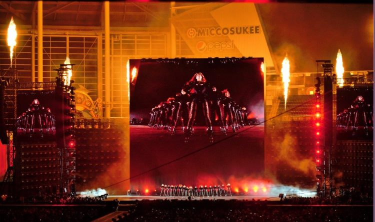 Beyoncé Formation World Tour Staging and Automation