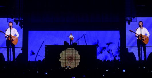 Paul McCartney One on One Tour Staging and Automation