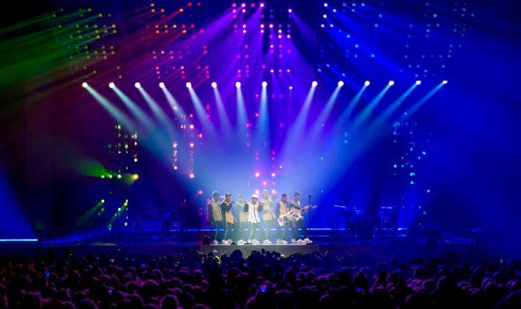 TAIT Bruno Mars Stage set design