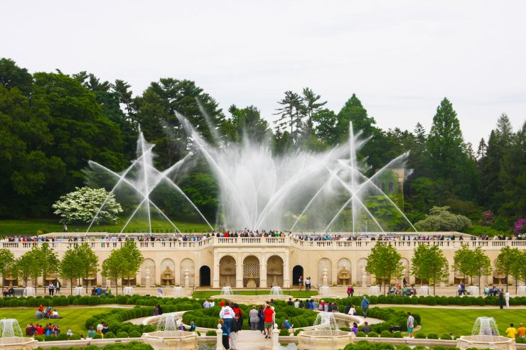 Longwood Gardens Main Fountain Garden