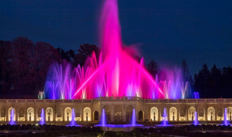 Tait Navigator Serves As Communication Backbone For The Longwood Gardens Main Fountain Garden
