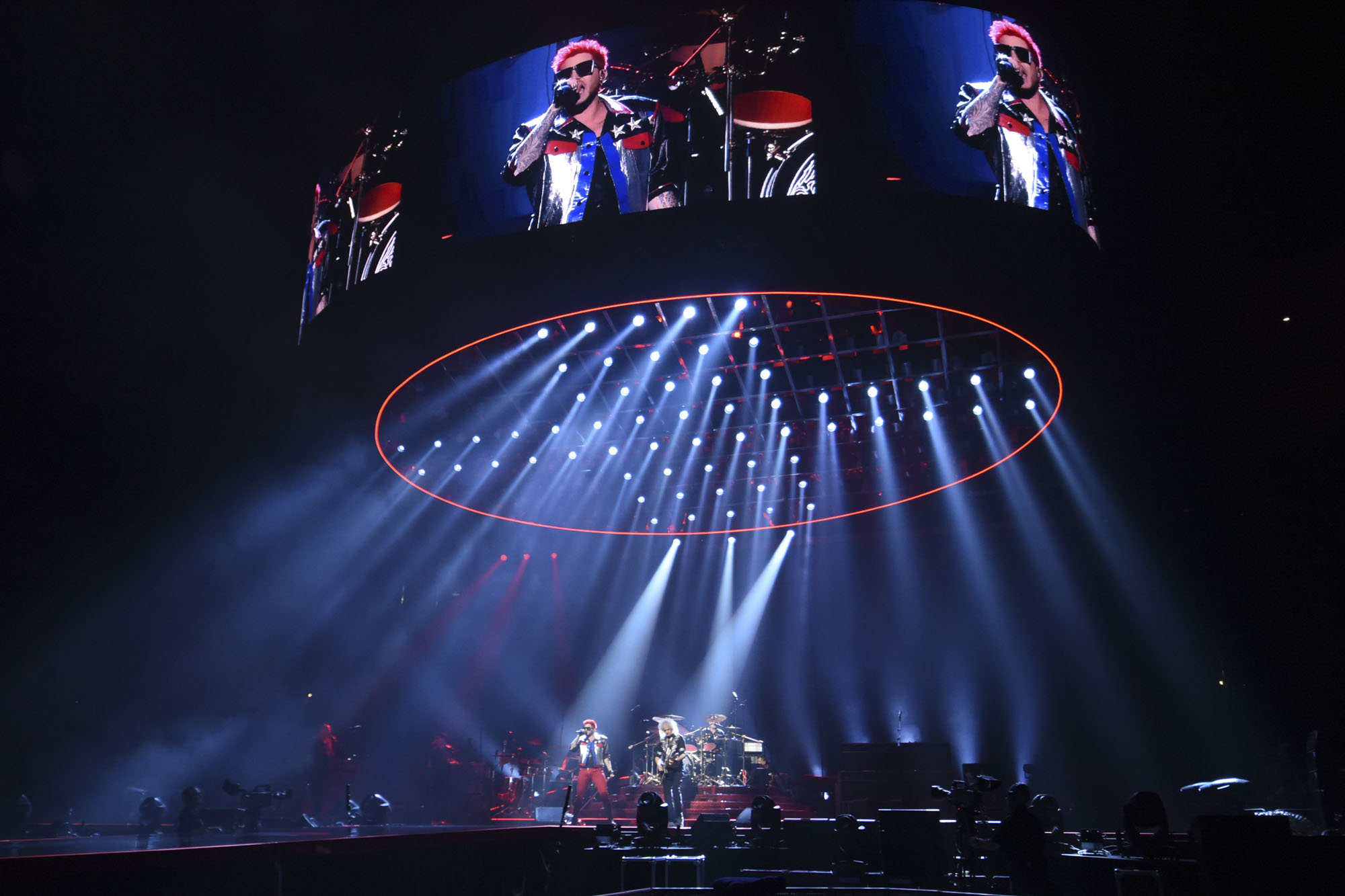 Tait Builds Elaborate Stage Set For Queen And Adam Lambert