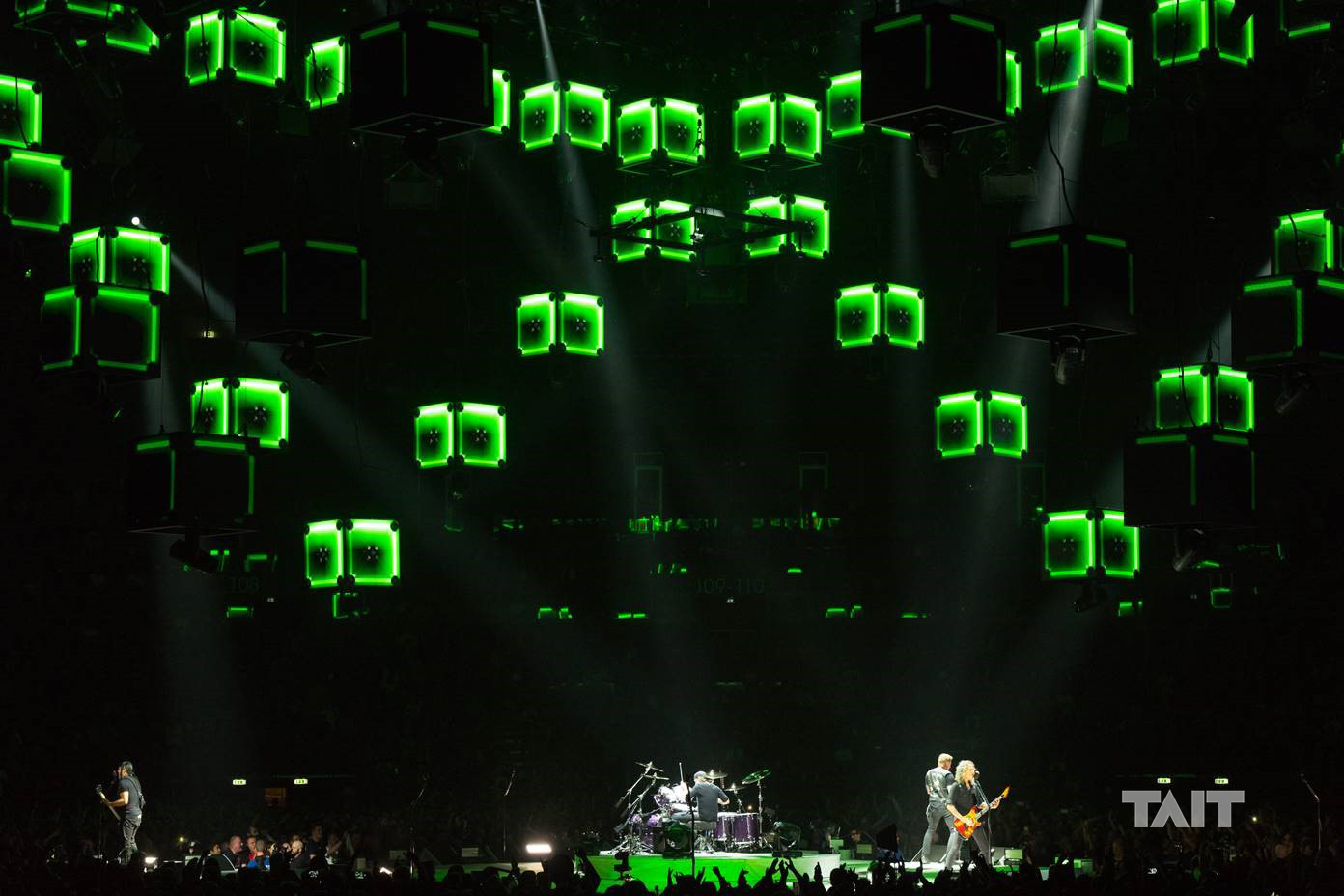 Metallica Worldwired Tour Stage Debuts World S First