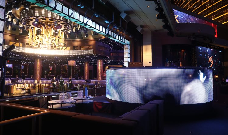 Wynn XS Nightclub DJ Booth