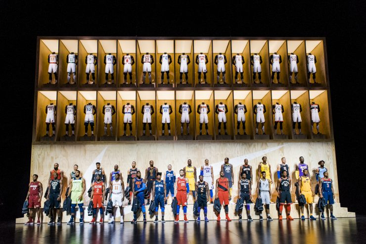 Nike NBA Uniform Launch