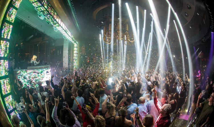 Wynn XS Nightclub DJ Booth
