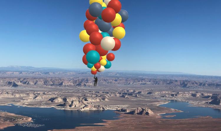 TAIT David Blaine Ascension Stunt 2020
