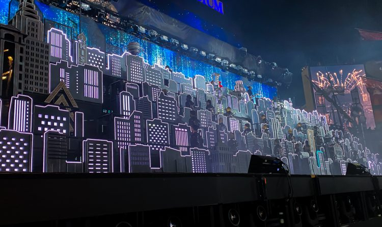 TAIT x Super Bowl 2021 - The Weeknd Halftime Show - Scenic Building Show 1